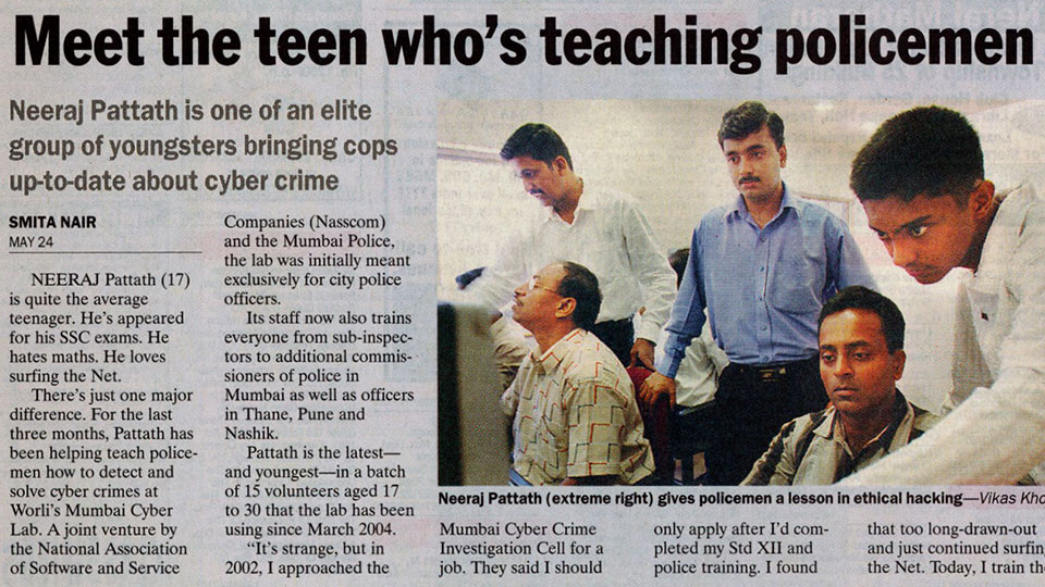 Meet the teen who's teaching policemen how to be ethical hackers - Indian Express
