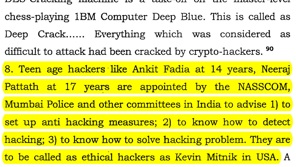 Excerpt from Unidentified Book on Cyber Hacking